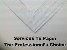 50 x Hi-White Paper Craft Card 200gsm SRA2 A2