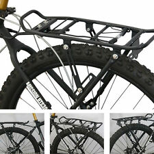 Bicycle Mountain Bike Rear Rack Carrier Luggage Seat Post Pannier Disc Brake MAX