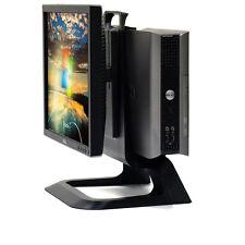 """Dell All-In-One Small Desktop USFF Core 2 Duo PC 4GB 250GB 17"""" LCD Windows 7 Pro"""