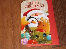 """""""  HAPPY CHRISTMAS """"....CUTE MONEY WALLET GIFT CARD"""