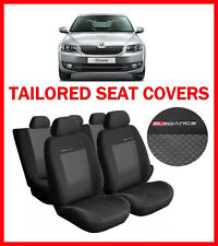 TAILORED SEAT COVERS for  Skoda Octavia III  2013 - on   FULL SET   (328G3)