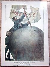 """affiche """"3eme Emprunt de la Defense Nationale"""" 1917"""