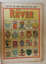Comic-THE ROVER, No.1360, 21st July 1951 SCHOOL BADGES