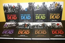 The Walking Dead Hardcover Robert Kirkman Vol 1-8 1 2 3 4 5 6 7 8 *1st EDITION*