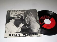 45rpm w/Pic Sleeve BILLY WHITE Temporary Insanity/Desdemona CHILLY KILLY NM/MINT