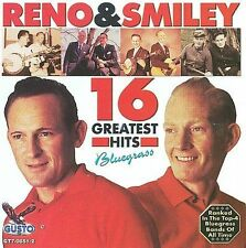 "DON RENO & RED SMILEY, CD ""16 GREATEST HITS"" NEW SEALED"