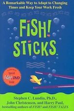 Fish! Sticks with DVD: A Remarkable Way to Adapt to Changing Times and-ExLibrary