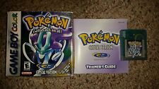 Pokemon: Crystal Version (Nintendo Game Boy Color, 2001) Complete in Box