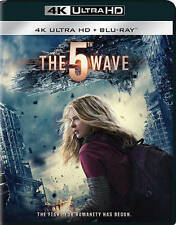 The 5th Wave 4K Ultra HD + Blu Ray Brand New Movie Ships Worldwide