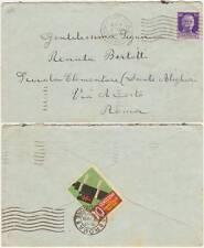 CHIUDILETTERA ERINOFILO SU BUSTA SPEDITA NEL 1934