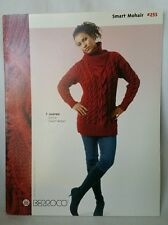 Smart Mohair Berroco #253 Knitting Booklet 8 Patterns Scarfs Sweaters and Shawls