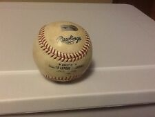 Win #25 GAME USED Baseball San Diego Padres Erick Stults Gaby Sanchez MLB