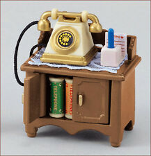 SYLVANIAN FAMILIES LIVING ROOM TELEPHONE STAND SET Part 80
