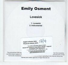 (EF553) Emily Osment, Lovesick - DJ CD