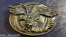 *` Classic Soaring EAGLE ` Full Metal BELT BUCKLE COUNTRY Western**USA seller