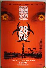 28 DAYS LATER ROLLED ADV ORIG 1SH MOVIE POSTER ZOMBIE HORROR (2002)