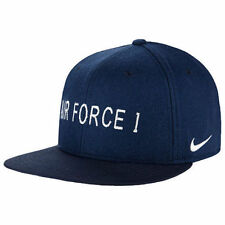 NEW NIKE AIR FORCE 1 SNAPBACK HAT CAP ADULT UNISEX 745964 410 RARE HARD TO FIND!