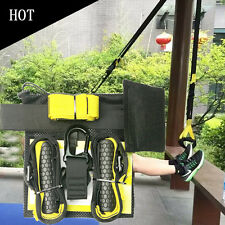 Home Gym Suspension Resistance Strength Training Straps Workout Trainer Kit