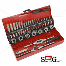 32pc Tap And Die Set Hss Metric Wrench Tool Screwdriver Garage Quality CT2316