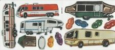 RV's camping campers sticker sheet - by Not so cute - NEW