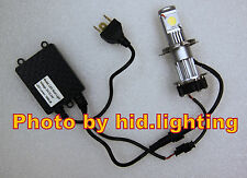 1x Motorcycle Bike 1800LM H4 50W CREE CXA1512 LED HeadLight Head Beam auto bulb