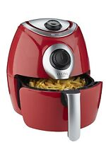 NEW Cucina by Giani Red AIR FRYER Non Stick Low Fat Healthy Airfryer Air Fry N/O