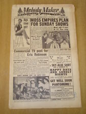 MELODY MAKER 1954 DECEMBER 11 CHRISTMAS EDITION ERIC ROBINSON TED HEATH JAZZ