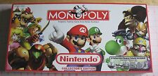 Nintendo Monopoly Board Game Collector's Edition Complete Excellent Condition