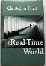 Christopher Priest SIGNED Real-Time World UKHC