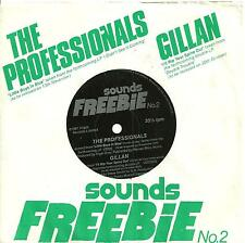 7A2 rare flexy ep  sounds freebie n° 2 THE PROFESSIONALS little boys in / GILLAN