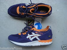 "Asics gel Lyte 5/v 44 ""gore-Tex"" Pack Purple/naranja/White"