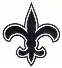 REFLECTIVE New Orleans Saints fire helmet motorcycle hard hat decal sticker yeti