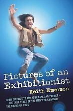 1 CENT BOOK Pictures of an Exhibitionist - Keith Emerson PAPERBACK