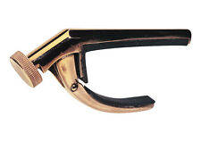 Victor Capo From Dunlop  Bronze  Curved Capo (for standard radius guitars)