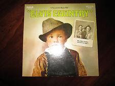 Elvis Presley Elvis Country LP RCA LSP 4460 VG/VG+  Tan Label