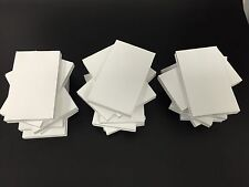 20 Scratch Pads. Unruled 3 x 5 White, 100-Sheets *Direct From The Factory!*
