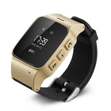 Anti-Lost Smart Watch GSM Wifi GPS Location Tracker Voice Monitor For Elder Safe