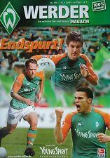 Programm 2003/04 SV Werder Bremen - Hannover 96