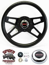 """1974-1994 GMC pickup steering wheel BLACK 4 SPOKE 13 1/2"""" Grant steering wheel"""