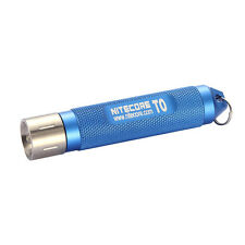 Nitecore T0 Tiny Series W/ Premium Nichia LED Flashlight 12 Lumens Blue T0-BlUE