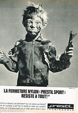 PUBLICITE ADVERTISING 065  1966  PRESTIL   fermetures éclair