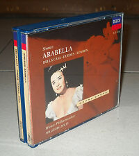 Box 2 Cd Richard STRAUSS ARABELLA Sir Georg Solti DECCA 1992 Lisa Della Casa