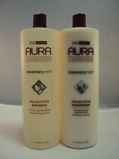 Aura Rosemary Mint Herbal Smapoo and Conditioner 33.8oz! Free Shipping in USA!!!