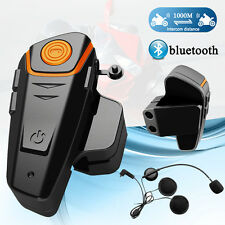 Interphone BT Bluetooth Motorbike Motorcycle Helmet Intercom FM Headset 1000M