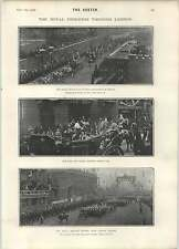 1902 The Royal Progress Through London Balaklava Heroes