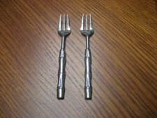 2 Vintage La S Marco Silverplate cocktail forks Italy