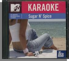 Karaoke CD+G - MTV Sugar & Spice - New 2004 Singing Machine CD-Get Party Started