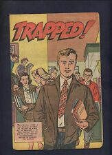 TRAPPED Promotional Promo Premium comic have a Reefer Man marijuana is Bad
