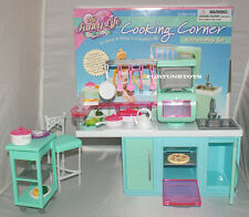 FANCY Life DOLL HOUSE FURNITURE COOKING CORNER Kitchen PLAYSET FOR BARBIE