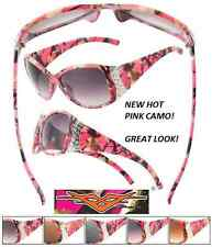 Real Tree HOT PINK Frame CAMO Camouflage Hunt Fish FREE CASE! POLARIZED GAME